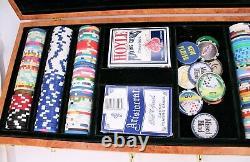Casino Poker Chip Set Pechanga Bellagio Venetian & More Poker Cards in Box