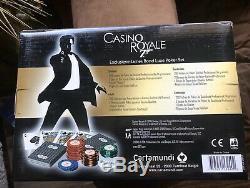 Casino Royale Cartamundi 007 Poker Set James Bond 007 NIB
