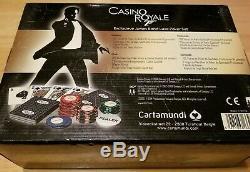 Casino Royale Cartamundi 007 Poker Set James Bond