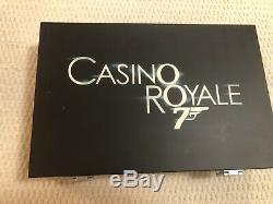 Casino Royale Cartamundi 007 Poker Set No Time To Die James Bond