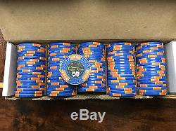 Chipco Poker Chip Set 1400 chips with original trays ceramic chips