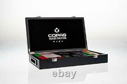 Copag Texas Hold'em Poker 300 Chips Set, 300 professional Quality Casino Chips