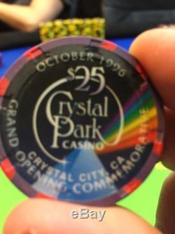 Crystal Park Casino Paulson Chip Set 1300+