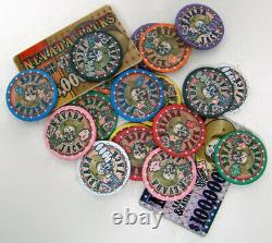 Custom Breakout 1000 Ct Nevada Jack 10 Gram Chip Set