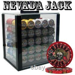 Custom Breakout 1000 Ct Nevada Jack 10g Acrylic Chip Set