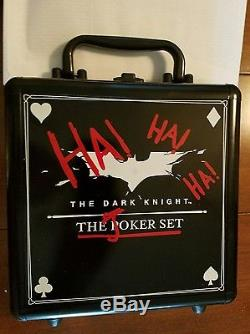 Dark Knight Joker Poker Chip and Card Set Heath Ledger limited edition 3000