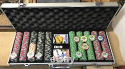 Dunes 515 Piece Poker Chip Set $25 Chips Sold Out Online