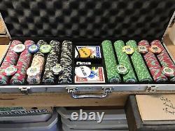 Dunes 515 Piece Poker Chip Set not Commemorative Set