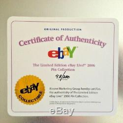 Ebay LIVE Las Vegas 2006 Poker Chip PIN SET rare etched case