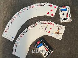 Excellent World Poker Tour chip set with two decks of cards and rule book