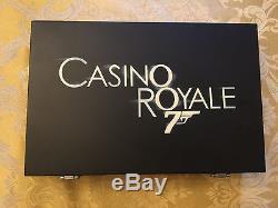Exclusive James Bond Luxury Poker Set by Cartamundi PLUS 18 BONUS items