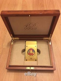 Exclusive Real Gold Poker Set