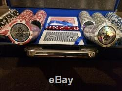 Extremely rare Smith & Wesson Casino grade poker chip/dice Collector Set