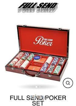 FULL SEND Casino Quality Poker Set by Nelk