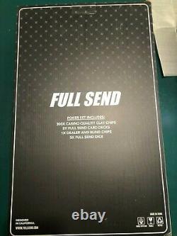 FULL SEND POKER SET BRAND NEW SUPER LIMITED Read Description