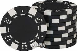 Fat Cat 11.5 Gram Texas Hold'em Clay Poker Chip Set with Aluminum Case, 500