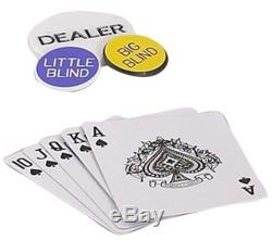 Fat Cat 11.5g Texas Hold Em Poker Chip Set 500 Chips