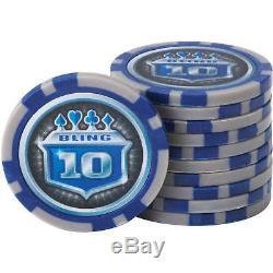 Fat Cat Bling 13.5-Gram Poker Chip Set, 500ct
