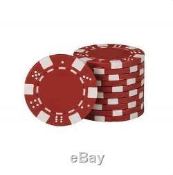 FatCat Texas Hold' Em Dealer Poker Chip Set 500 Count Chips Dice Cards Storage