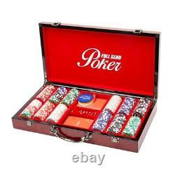Full Send Nelk Poker Set. Brand New. Red