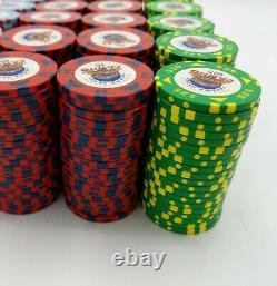 GPI Bud Jones Poker Chip Set Yakama Nation Legends Casino 400 Chip Cash Paulson