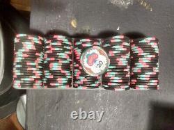 Garden City Casino San Jose CA poker chip set, 700ct. Paulson & BCC