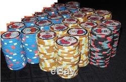 Garden City Poker Chip Set (Blue Chip Co & Paulson)
