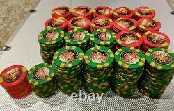 Genuine Paulson Grand Victoria 400 Chip Set Casino Used Case Included