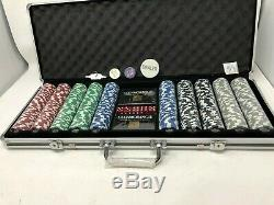 Glenmorangie Malt Scotch Whiskey Limited Edition 500 Ct Poker Chip Set NEW Rare