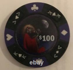 Grateful Dead custom poker chip set 1990 pieces