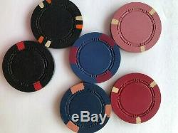 H Mold Clay Poker Chips Set of 400 Assorted