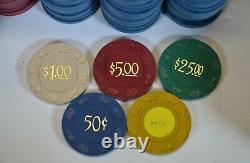 HUGE Bud Jones Poker Chip Set Casino 2100 Chip Paulson