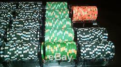 Horseshoe Casino Cleveland Paulson Poker Chip Tournament Set T10k