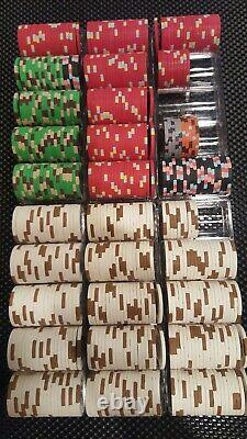 Horseshoe Southern Indiana 550 Chip Paulson RHC Poker Set Casino Used