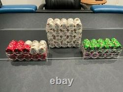 Horseshoe Southern Indiana 800 Chip Paulson THC Poker Set Casino Used
