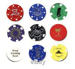 Hot Stamping Customized Service Poker Chips Las Vegas