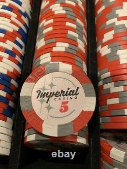 Imperial Casino Poker Chip Set