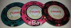 James Bond 007 Casino Royale Cartamundi 200 Chip Poker Set RARE