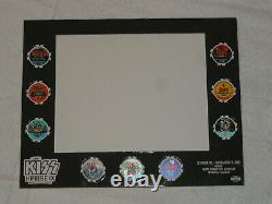 Kiss Kruise IX Poker Chips All 9 Limited Edition Set Made For The Vip Holders