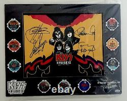 Kiss Kruise X! Signed Poker Chip Set! (Rare Exclusive)