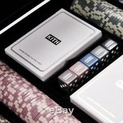 Kith Poker Set With Lacquered Monogram Box Logo Box