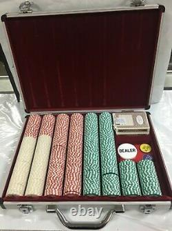 Las Vegas Classics Casino Poker Chips Set in Case