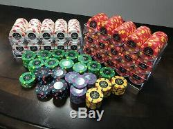 Le Paulson Noir Rare Collectors Set New Chips 701 Chips In Total