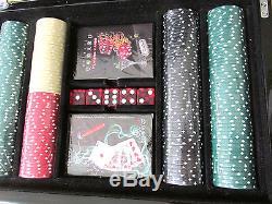 Michael Godard Pocket Rockets Poker Set Cards Chips Dice Nib