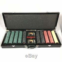 Michael Godard Poker Chips Card Set $100 Bill and Dice Limited Edition 5/500