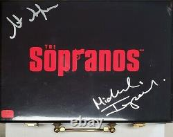 Michael Imperioli Steve Schirripa The Sopranos DUAL signed Poker Chip Set
