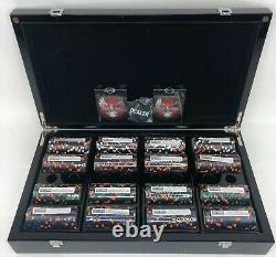 NEW 2004 Harley Davidson Set of 400 Poker Chips In Eagle Display Case SEALED