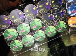 NEW Chipco Halloween 600 Chips. Complete Payable Set- Extremely Rare