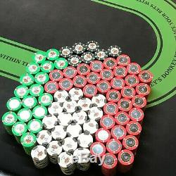 NEW Paulson Poker Chips Set of 1600 UNCIRCULATED MINT CONDITION SHARP EDGES
