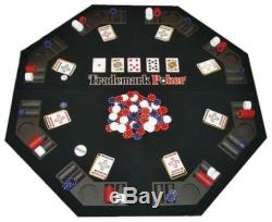 NEW Trademark Poker Texas Traveller Table Top & Chip Travel Set